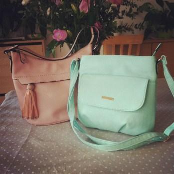 Mes nouveaux sacs