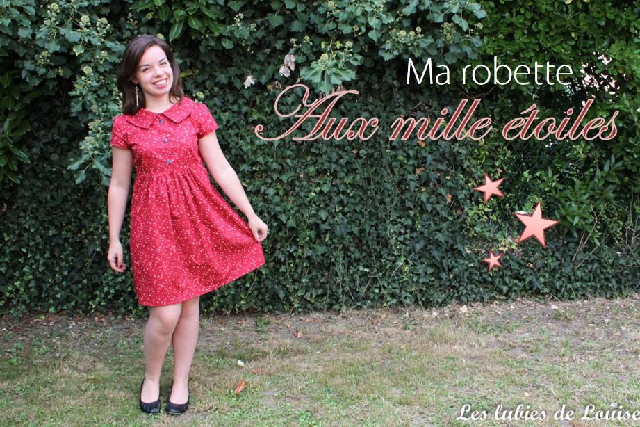 Ma robette étoilée- Les lubies de louise-titre