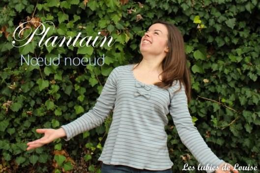 plantain noeud noeud - Les lubies de louise-titre (1)