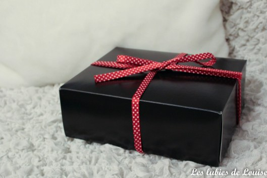 box couture green cherry - les lubies de Louise