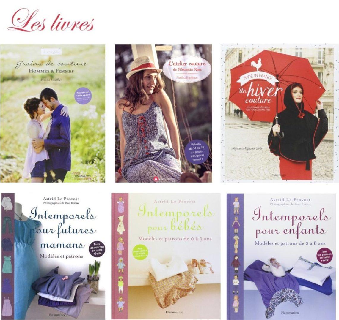 sélection de Noel - Livres couture - Les lubies de Louise