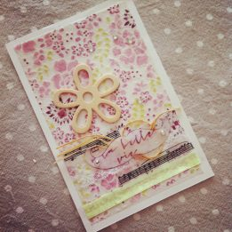 J'ai reçu une trop jolie carte d'une lectrice, merci ♥