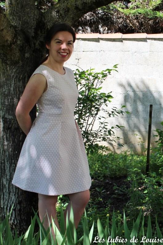 Ma robe rétro à pois - les lubies de louise-11