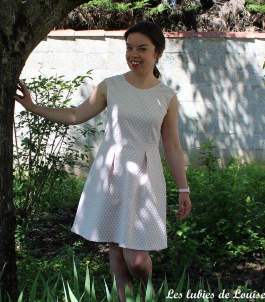 Ma robe rétro à pois - les lubies de louise-3