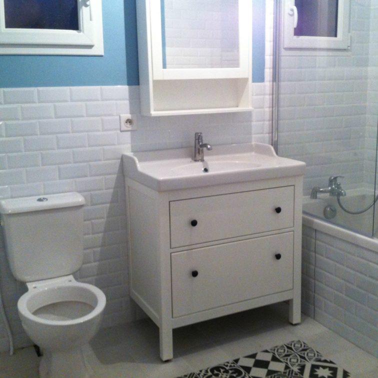 La dernière chose d'installée avant le déménagement : les toilettes !