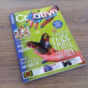 Mon tutoriel est dans le magazine Créative