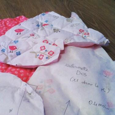 Cadeau de naissance de préparation