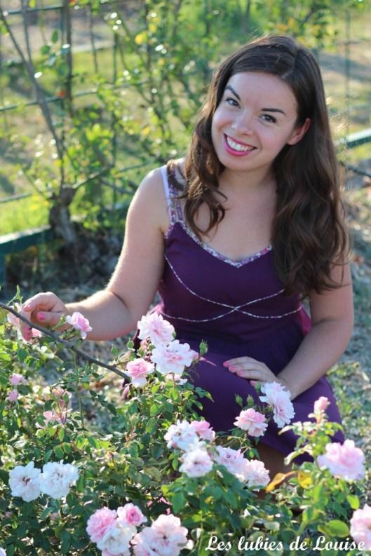 Robe centaurée mariage violet - les lubies de louise-23