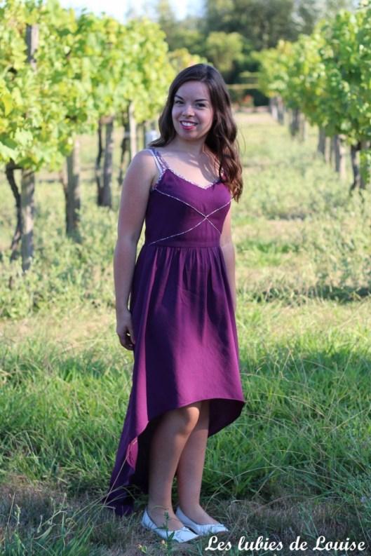 Robe centaurée mariage violet - les lubies de louise-6