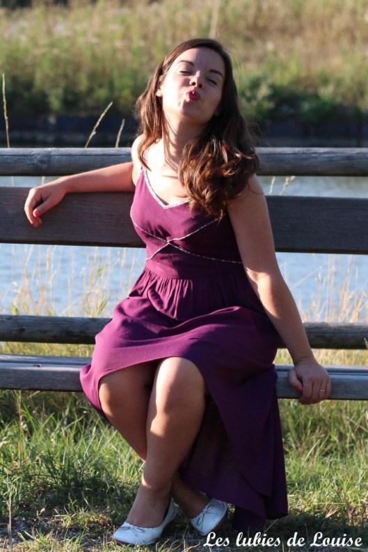 Robe centaurée mariage violet - les lubies de louise-75