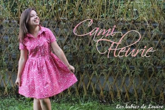 Cami dress fleurie - les lubies de louise-titre