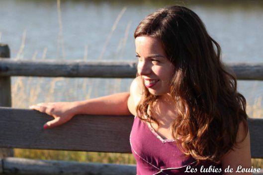 Robe centaurée mariage violet - les lubies de louise-76