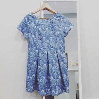 Ma robe est finie mais elle ne restera pas ainsi