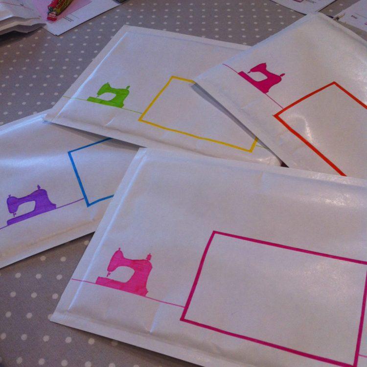 Mes enveloppes décorées
