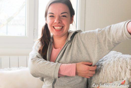 Sweet à capuche coudre avec 1 mètre de tissu - les lubies de louise-17