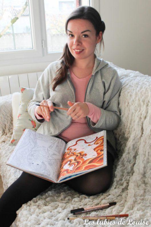 Sweet à capuche coudre avec 1 mètre de tissu - les lubies de louise-30