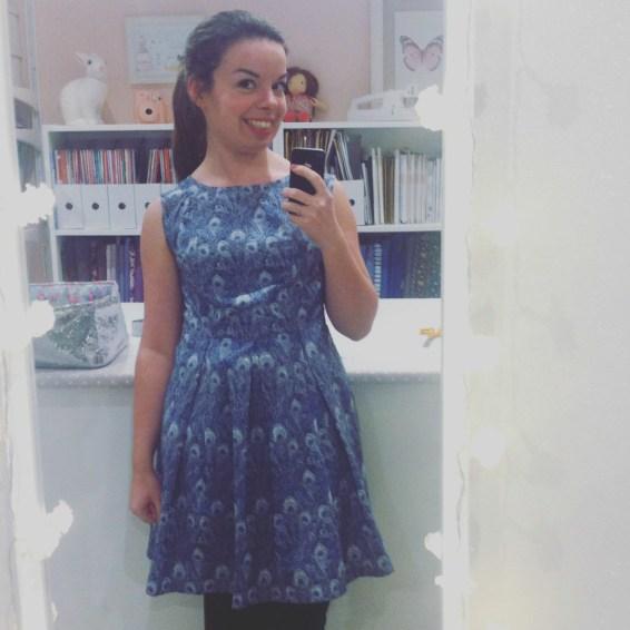 Ma robe trop grande devient une jolie robe