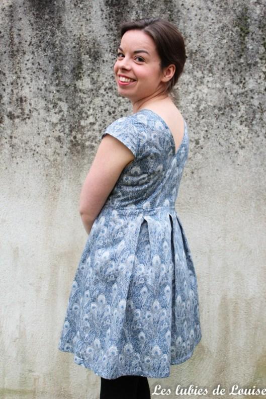 Robe toupie Eglantine et Zoé - les lubies de louise-10