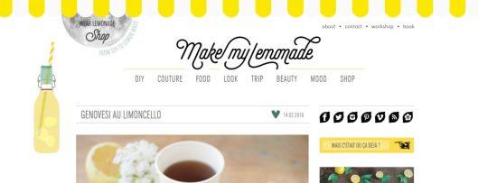 mes blogs favoris make my lemonade