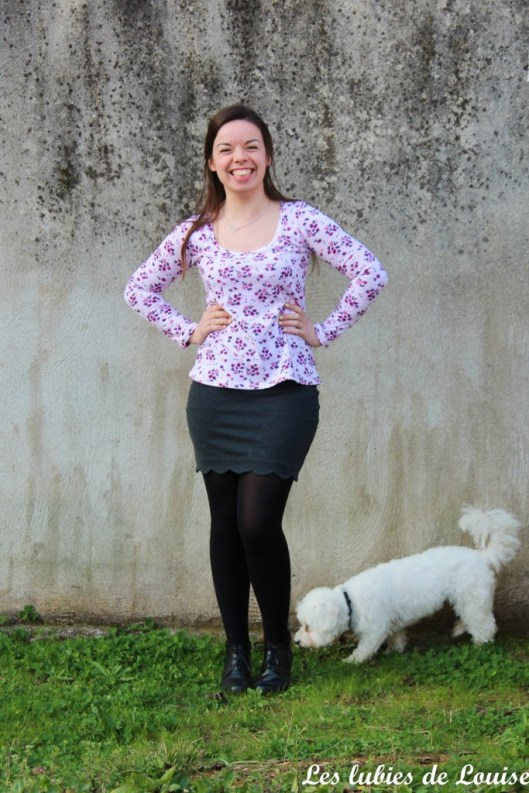 T-shirt plantain et jupe Manathan- les lubies de louise-5