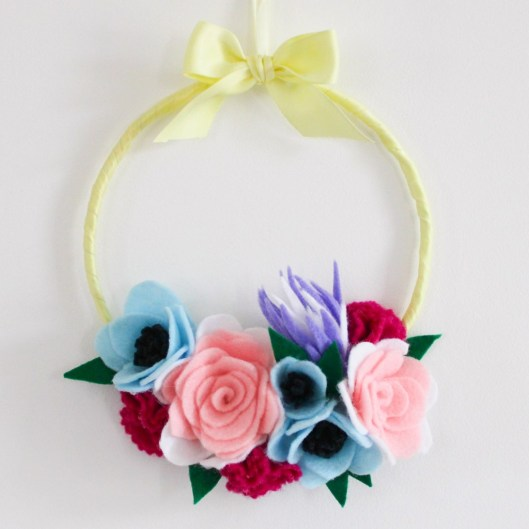 Tuto DIY Couronne de fleurs- les lubies de louise-2