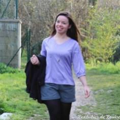 Ma blouse airelle est sur le blog