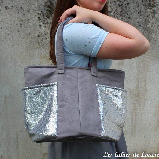 sac cabas odéon paillettes - les lubies de louise-4