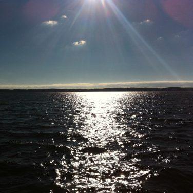 Le lac d'Hourtin