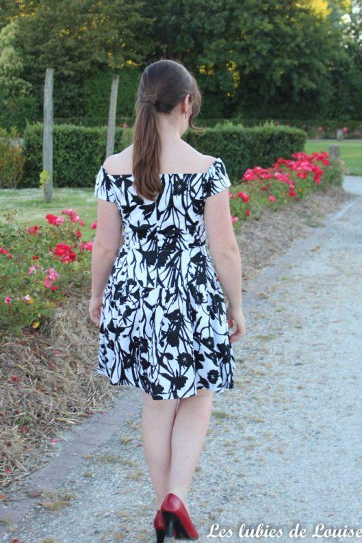 Seda dress pauline alice black and white- les lubies de louise-13