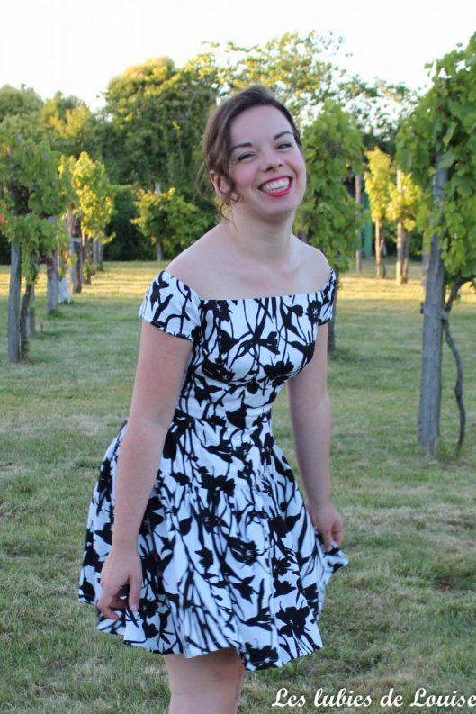 Seda dress pauline alice black and white- les lubies de louise-19