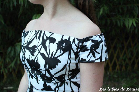 Seda dress pauline alice black and white- les lubies de louise-22
