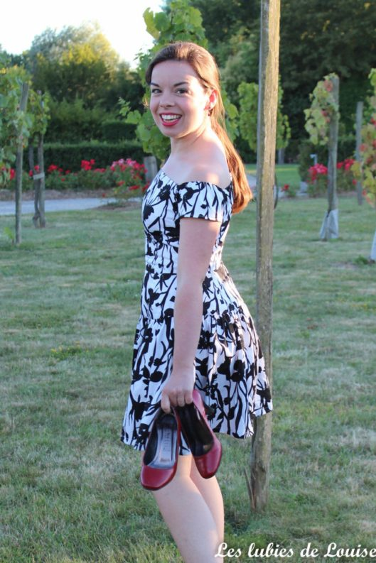 Seda dress pauline alice black and white- les lubies de louise-4