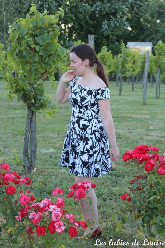 Seda dress pauline alice black and white- les lubies de louise-6