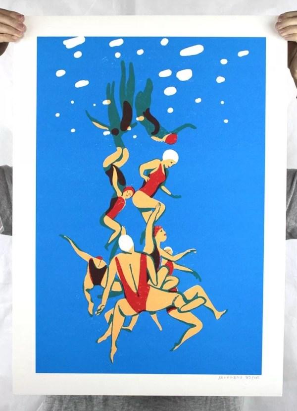 La Piscine 4 - Virginie Morgand