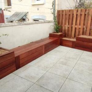banc bois terrasse