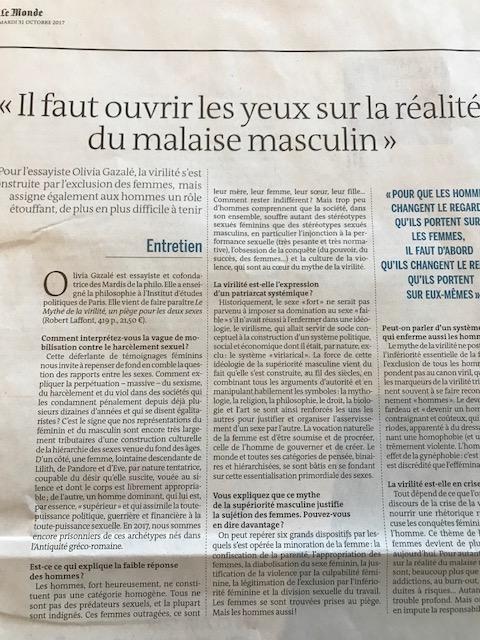 Le Monde-31 octobre 2017