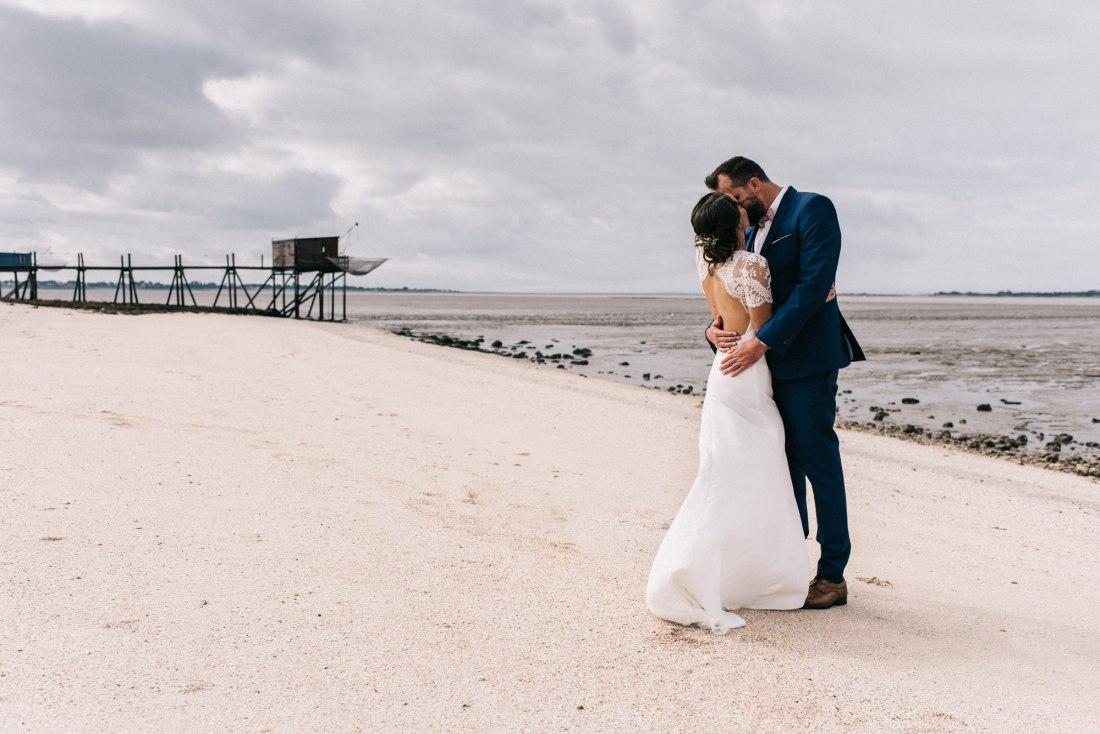 mariage à Noirmoutier Vendée plage