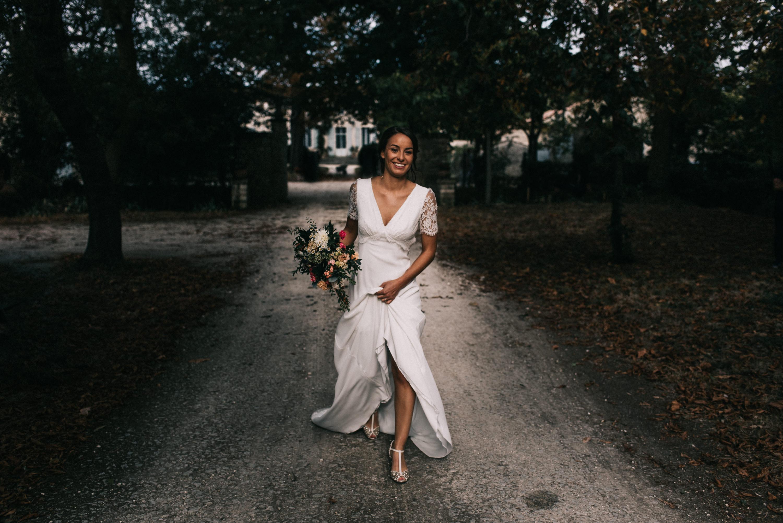 mariée bohème