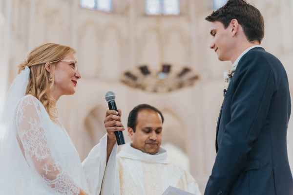 Mariage bohème-chic en Anjou - cérémonie