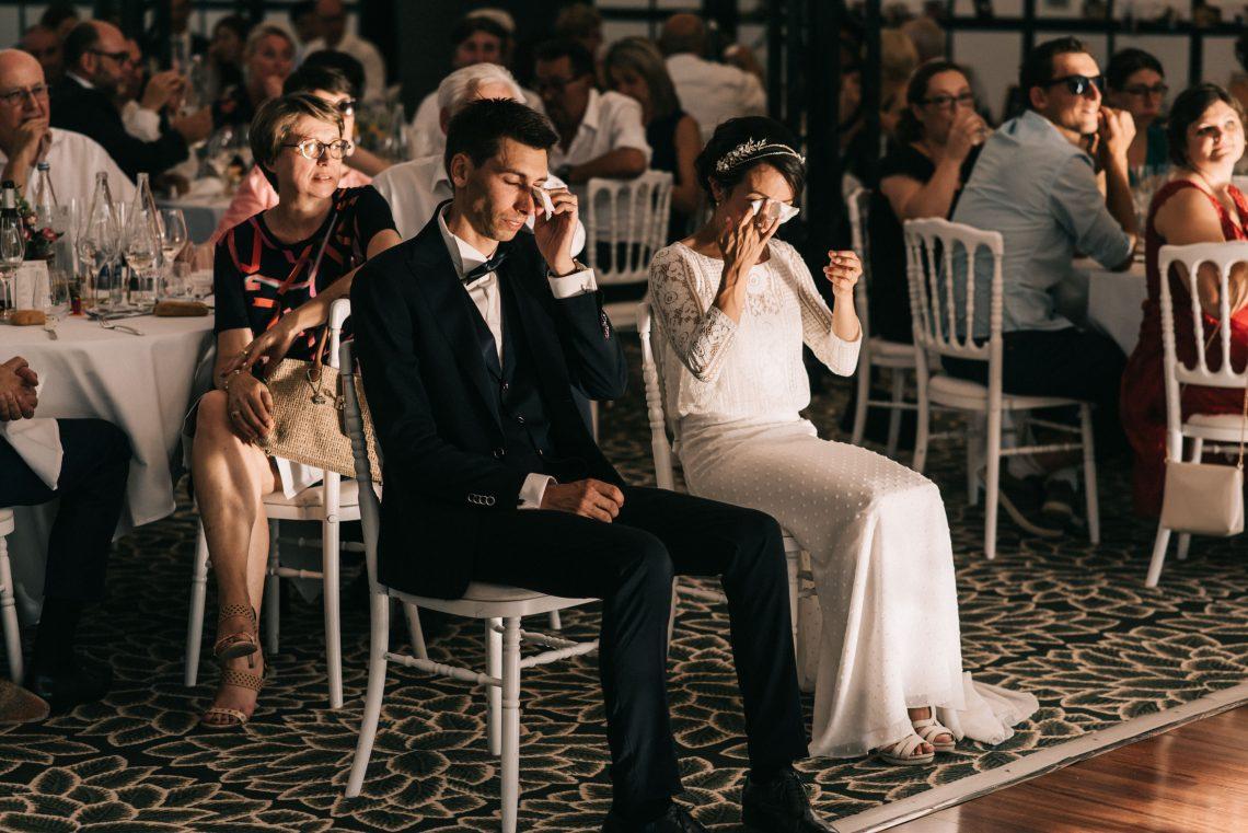 photo mariage vendée émotions mariés