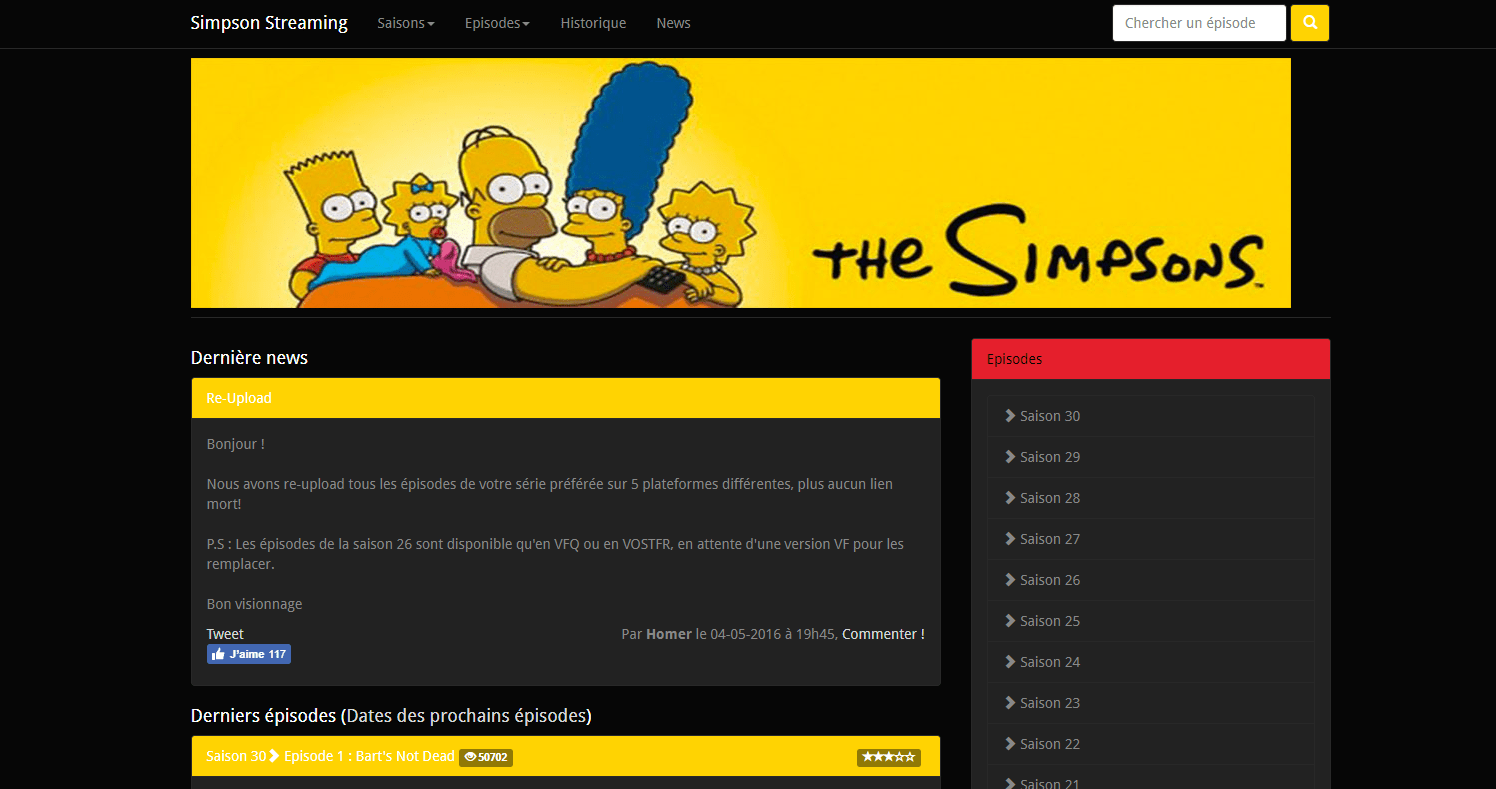 Simpson En Streaming