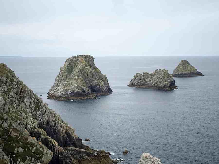 Les rochers de la pointe du pen hir