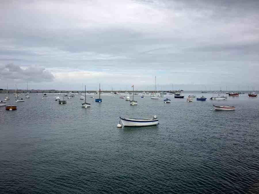 Bateaux sur le port de Penmarch