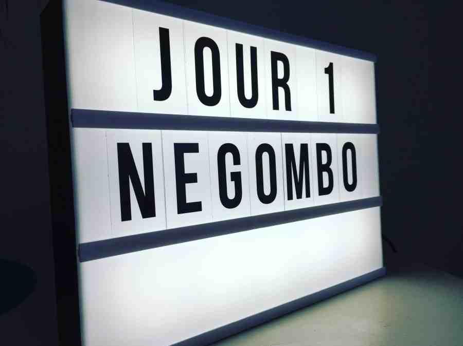 Lightbox zodio indiquant Negombo