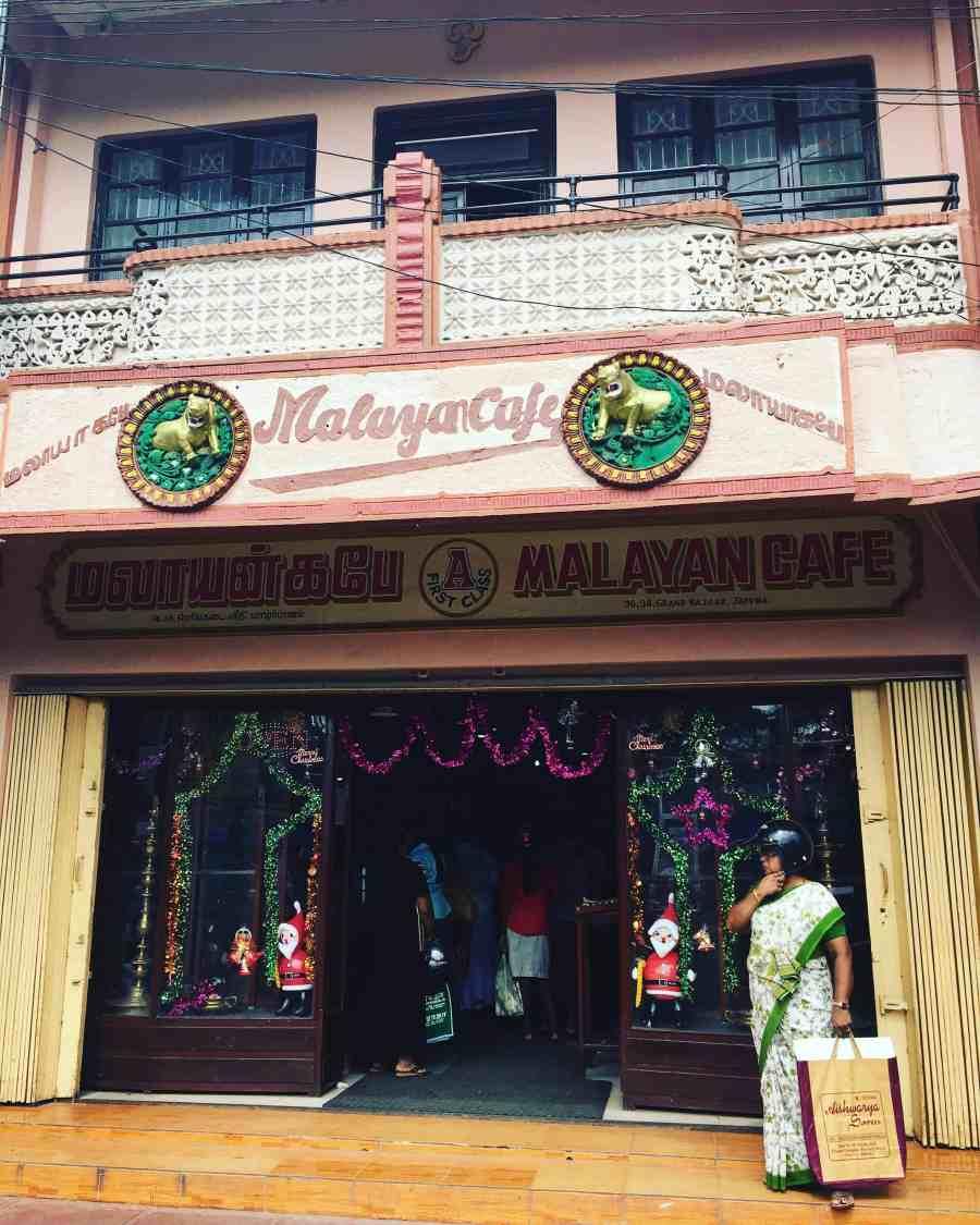 Café malayan au sri lanka à Jaffna