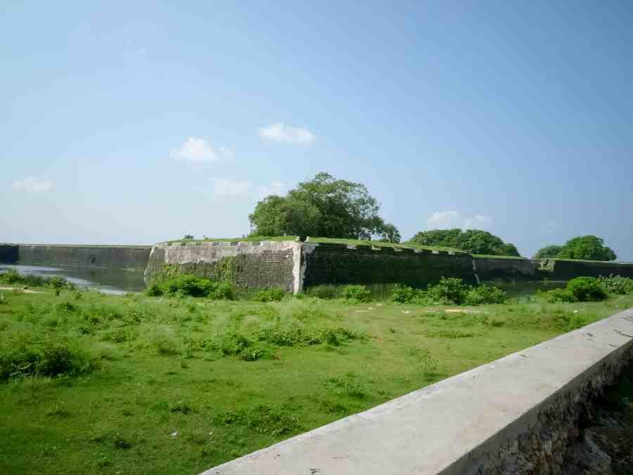 Dutch fort au sri lanka à Jaffna