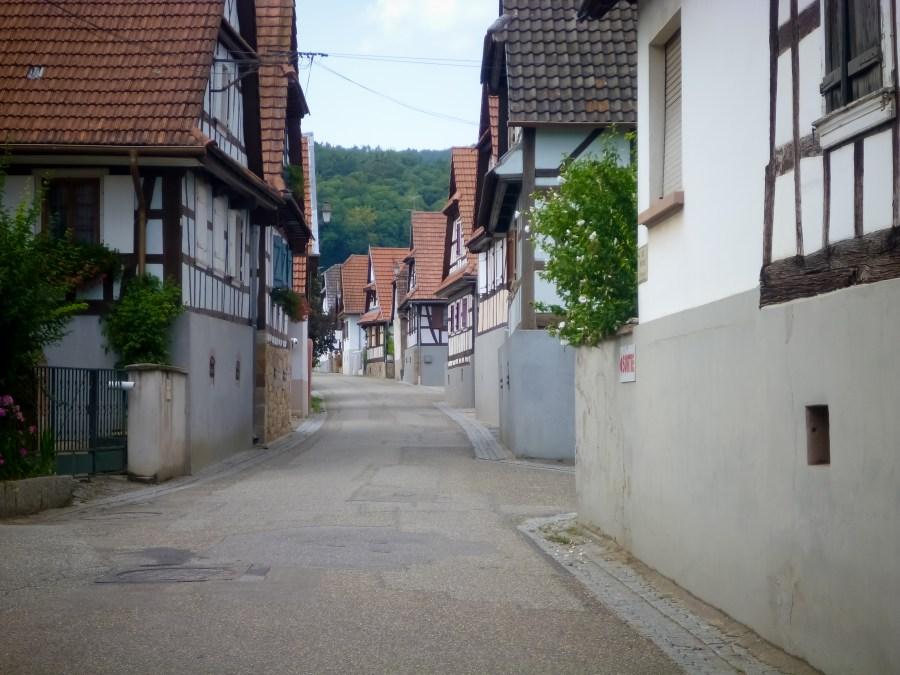 route des vins-alsace-france-rue-maison-colombages