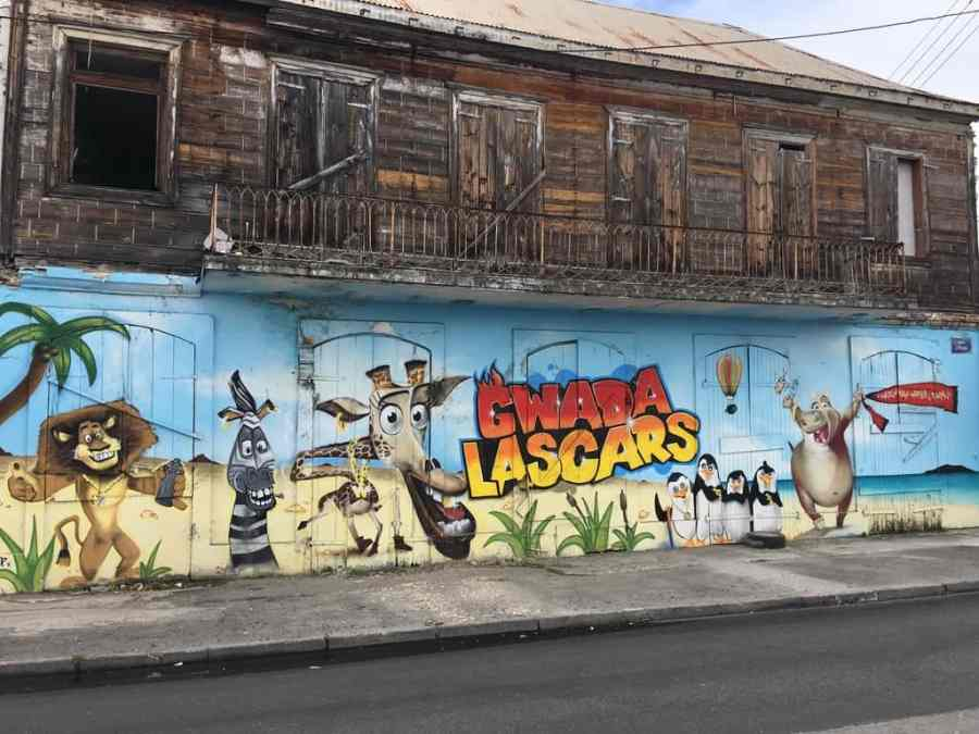 street art-pointe pitre-oeuvres-graf-tag-mural