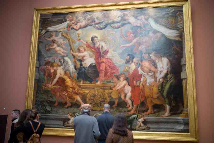 valenciennes-hainaut-visites mystères-autour du louvre lens-musee-beaux arts-tableau-flamand-rubens