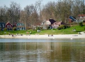 Le lac d'Ailette complexe Center Parcs